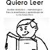 """""""QUIERO LEER"""", AUXILIAR PARA EL APRENDIZAJE DE LA LECTOESCRITURA"""
