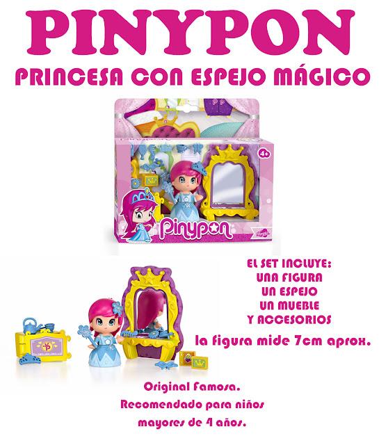 Jugueter a le n pinypon princesa con espejo m gico jugueterialeon - Espejo magico juguete ...