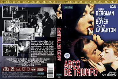 Carátula dvd: Arco de triunfo / Arch of Triumph