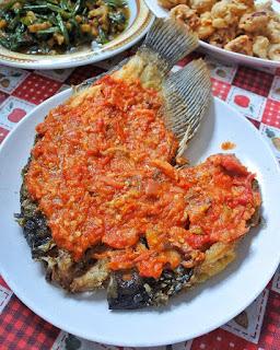 Resep Masakan Gurame Cobek By @dapurchytra