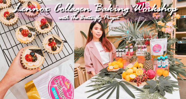 Baking using Lennox Collagen 5000 Powder - Lennox Collagen x The Butterfly Project