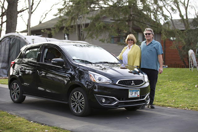 Couple with 2020 Mitsubishi Mirage - Subcompact Culture