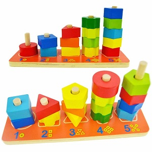 Educational toys for 24 months baby.