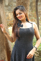 Aswini in lovely Deep Neck Sleeveless Black Dress Spicy Pics ~  Exclusive 53.JPG