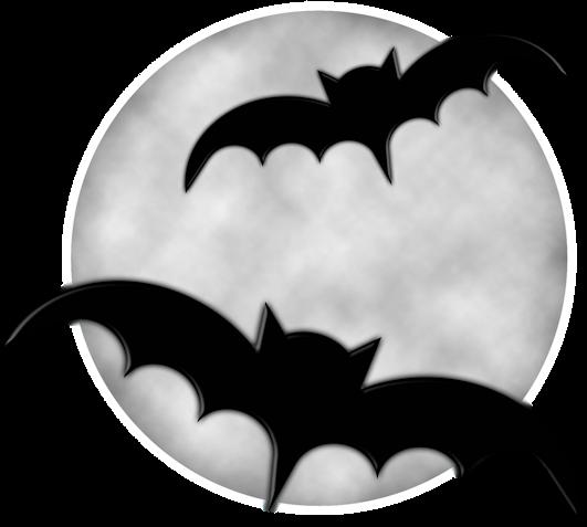 Luna con murciélagos 2