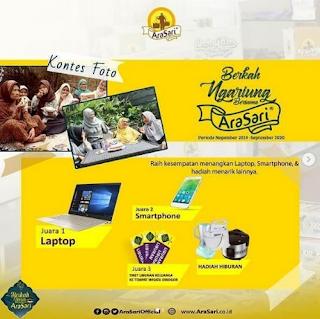 Kontes Foto Ngariung Berkah Arasari Berhadiah Smartphone