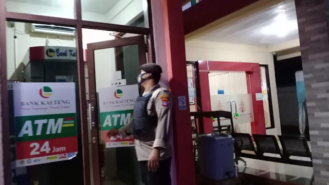 Guna Menekan Kriminalitas, Polsek Parenggean Rutin Giat Patroli Malam
