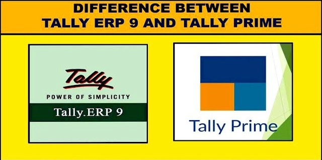 10 Common Difference between Tally Prime and Tally Erp 9 in Hindi