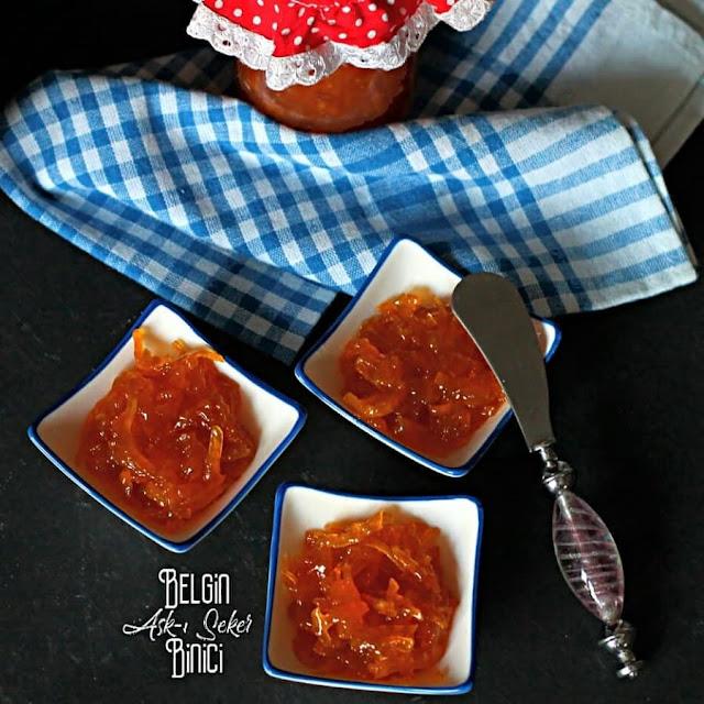 BALKABAĞI REÇELİ Tarifi nasıl yapılır kolay nefis videolu tatlı yemek tarifleri Balkabaklı reçel yapımı