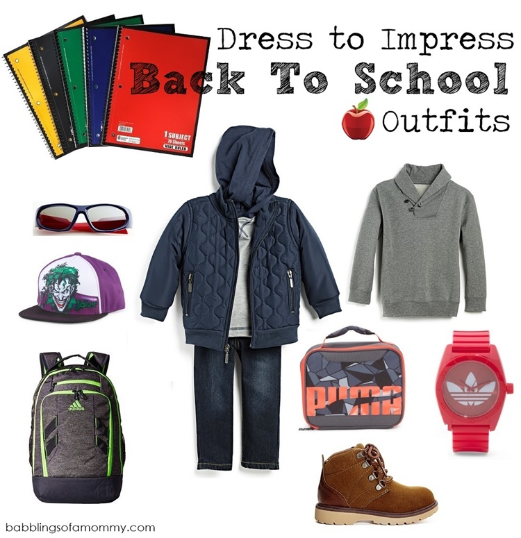 8ea2eeeb42 Babblings of a Mommy: Dress to Impress Back-to-School Outfits from ...