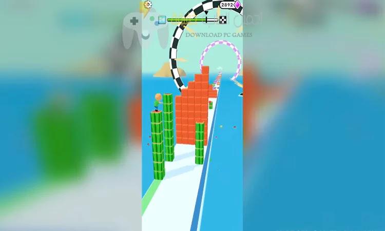 تحميل لعبة Cube Surfer مجانا