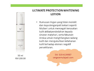white lotion shaklee