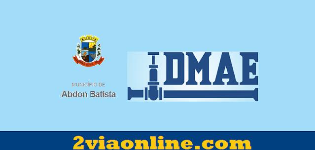 2Via DMAE Abdon Batista: confira como consultar fatura e tirar boleto