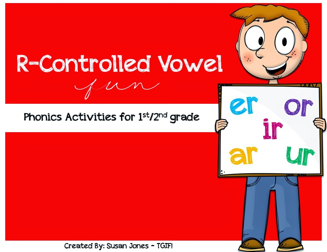 Blog Hoppin Free R Controlled Vowel Activities