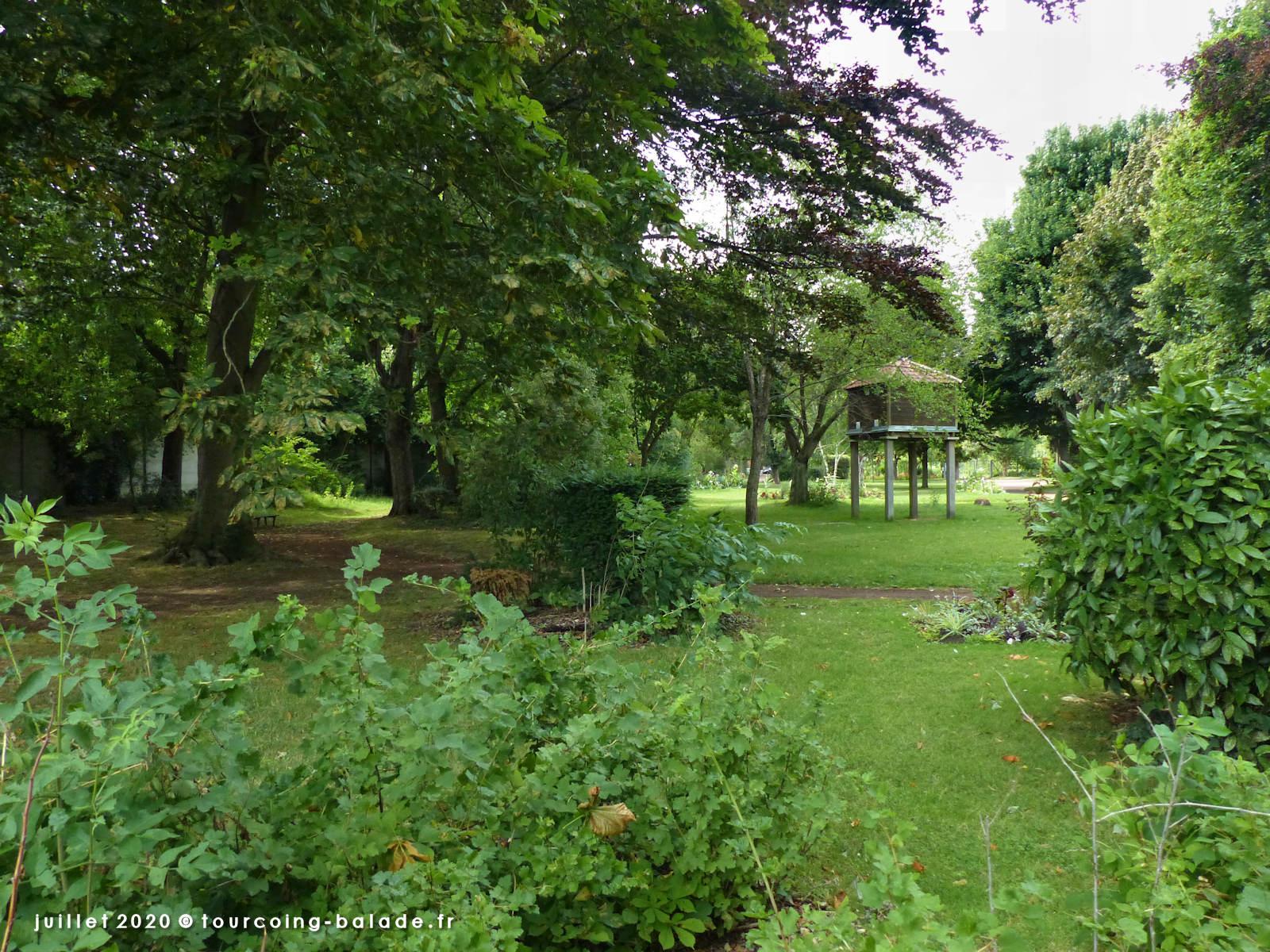 Parcs et Jardins Tourcoing - Square Alexis Parsy, 2020