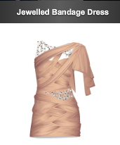 stardoll Jewelled Bandage Dress