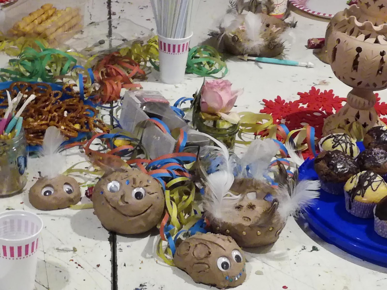 Malhaus am Blauen Hut : Kreative Geburtstage