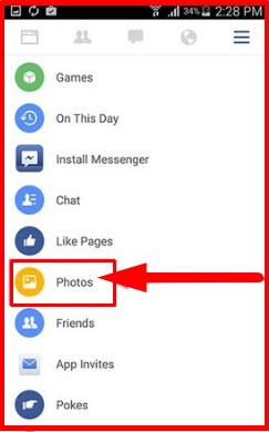 how to delete multiple photos on facebook mobile uploads