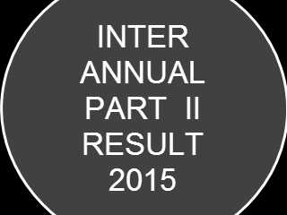 Inter annual result 2015