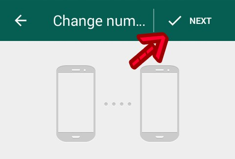 whatsapp number kaise change kare
