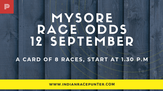 Mysore  Race Odds, free indian horse racing tips