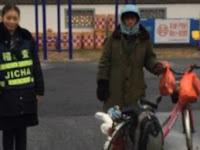 Mudik Sejauh 1500KM Dengan Sepeda Butut, Pria ini Malah Kesasar, Tapi Kejadian Selanjutnya Tak Disangka-sangka