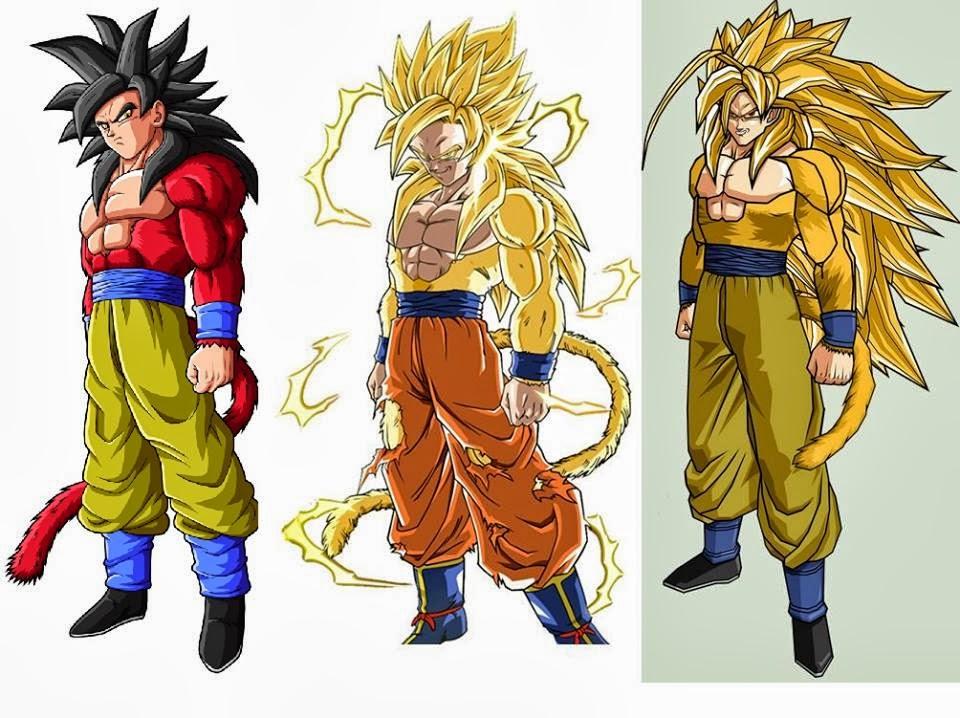 Goku at SSJ4 SSJ5 and SSJ6. D  sc 1 st  animes & animes: Goku at SSJ4 SSJ5 and SSJ6. :D