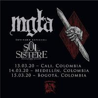 CONCIERTO de MGLA+ SOL SISTERE en Colombia