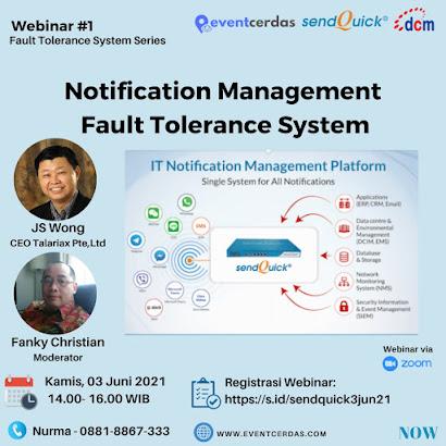 Notification Management Fault Tolerance System - 3 Juni 2021