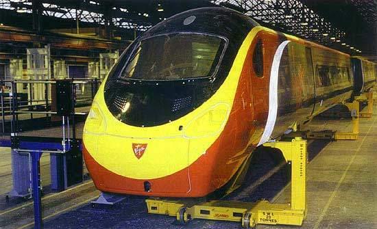 High-Speed Tilting trains