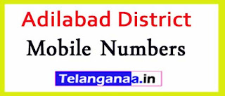 Adilabad Mandal MPP  ZPTC Mobile Numbers List Adilabad District in Telangana State