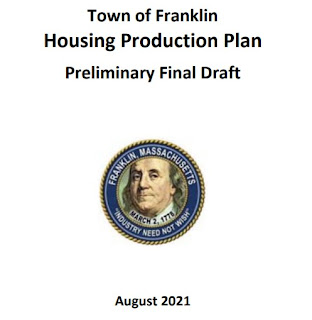 2021 Housing Production Plan - Planning Board - Public Hearing - Sep 27