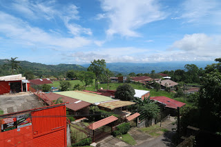 View out the window of Azani in Puriscal
