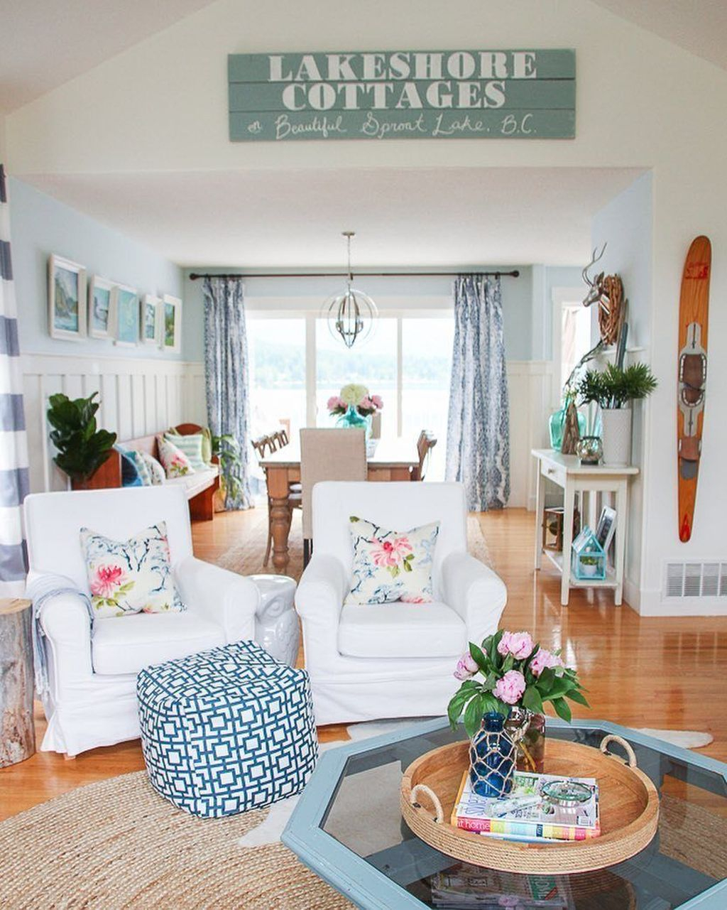 Elegant Living Room Decorating Ideas: 35+ Elegant Coastal Themed Living Room Decorating Ideas