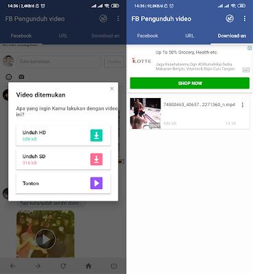 Cara Download Video Di Komentar Facebook Android