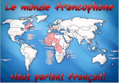 Αποτέλεσμα εικόνας για connaissance du monde francophone