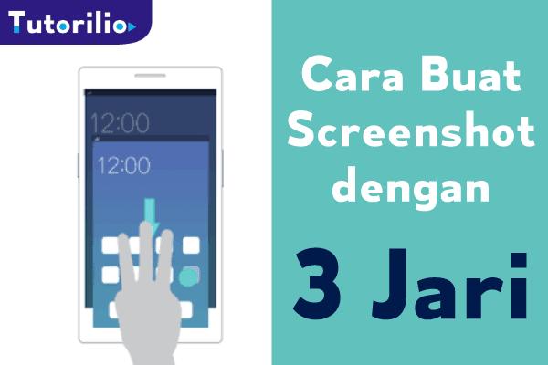 Screenshot android 3 jari, Cara mudah setting screenshot dengan 3 jari di hp xiomi, oppo, vivo