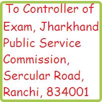 jpsc-application-sending-address-jharkhand-psc-jobs
