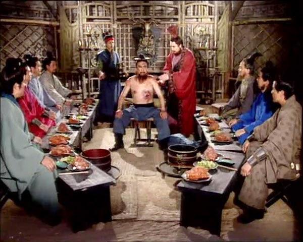 """ซุนกวนจัดงานเลี้ยง """"เปิดแผล"""" ยกย่องจิวท่าย"""