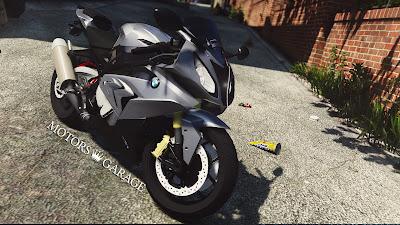 GTA V - BMW S1000RR 6