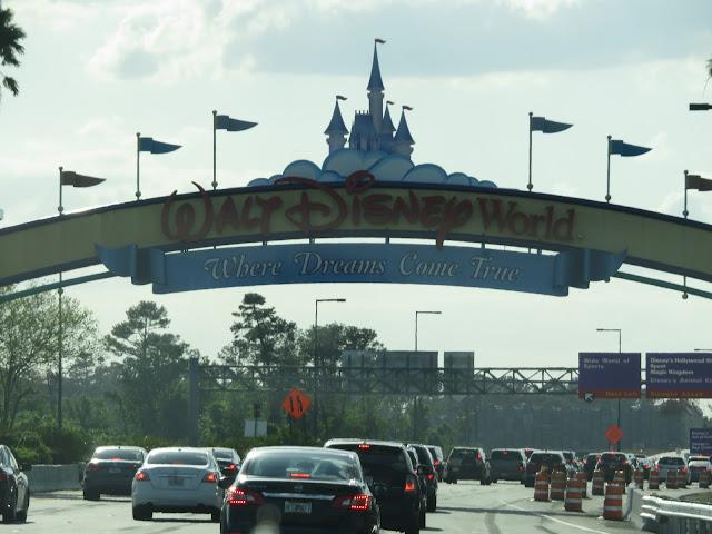 Walt Disney World Where Dreams Come True Entrance