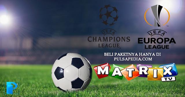 Pembelian Paket Liga Champions Matrix Garuda