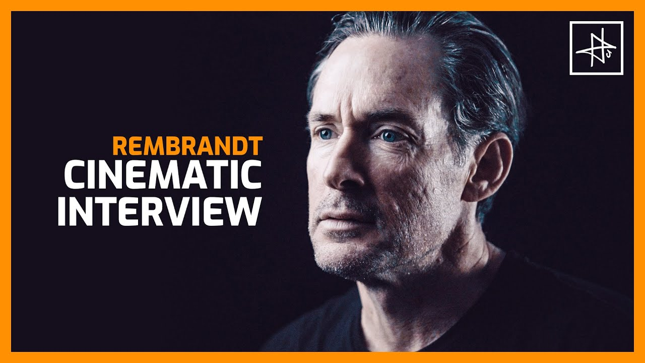 How to film a Cinematic Interview with Rembrandt Lighting