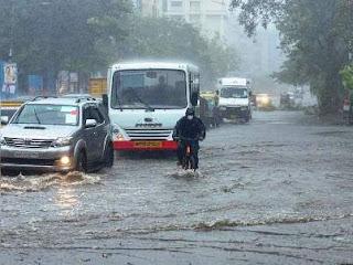 Delhi rain