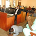 EndSARS: Drama at Ogun State Panel of inquiry as police sergeant prostrates and begs for mercy