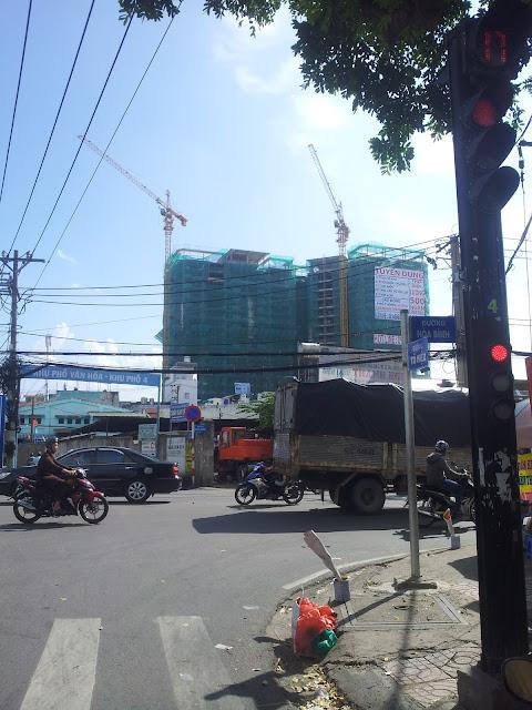 Tiến độ căn hộ 8X Đầm Sen quận Tân Phú ngày 11/10/2015