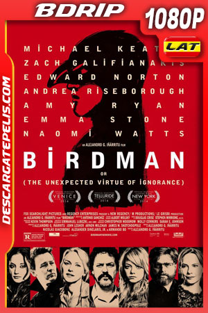 Birdman (2014) 1080p BDrip Latino – Ingles