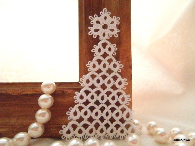 Choinka zrobiona według wzoru z Pinteresta