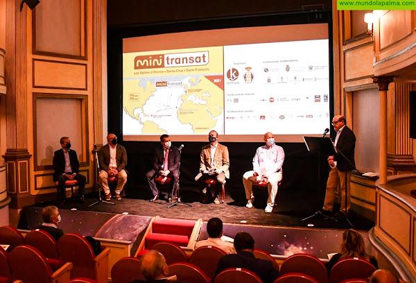 Celebrado el acto de presentación de la regata Mini Transat que tendrá escala en las próximas tres ediciones en Santa Cruz de La Palma