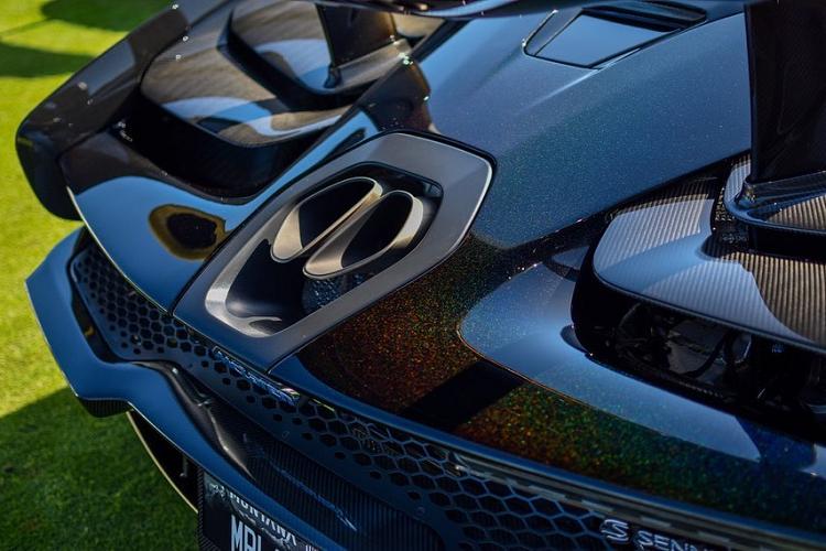 Siêu xe McLaren Senna Merlin – phong cách truyền thuyết vua Arthur